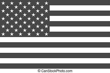 政治的である, アメリカ人, 国民, 役人, 旗
