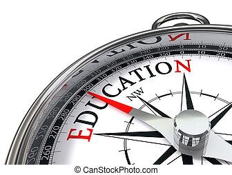 教育, コンパス
