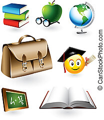 教育, ベクトル, 要素