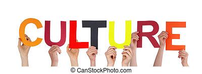 文化, 保有物, 人々