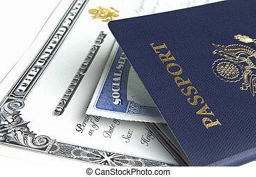文書, パスポート