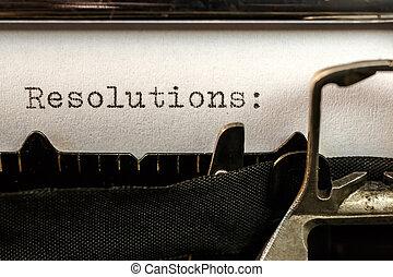 文語のテキスト, 古い, タイプライター, resolutions
