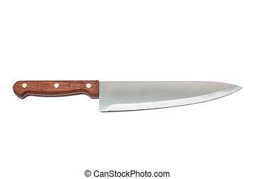 新しい, ナイフ, 台所