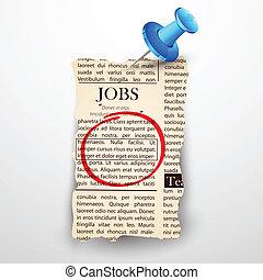 新聞, 仕事, 分類された
