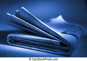 新聞, 折られる