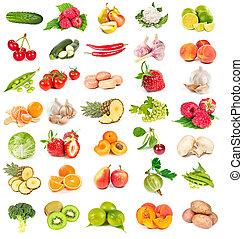 新鮮な野菜, セット, 成果