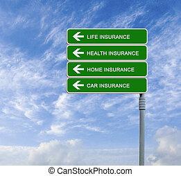 方向, 保険