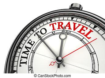 旅行, 概念, タイムレコーダー