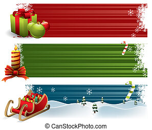 旗, クリスマス