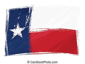 旗, グランジ, テキサス