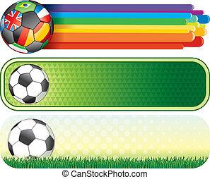 旗, サッカー