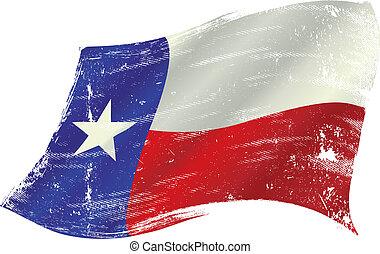 旗, テキサス, グランジ