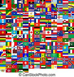 旗, 手ざわり