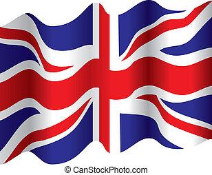 旗, 流れること