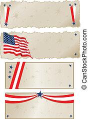 旗, americana