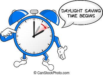 日光, 時間, 警報, セービング, 変化しなさい, 時計