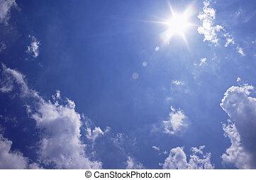 日当たりが良い, 空
