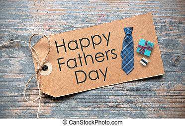 日, 父, 幸せ, ラベル