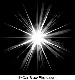 明るい星, 照ること