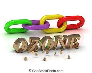 明るい, 手紙, 碑文, 色, ozone-, 鎖
