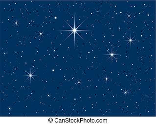 星が多い空