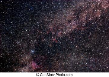 星が多い, 外宇宙