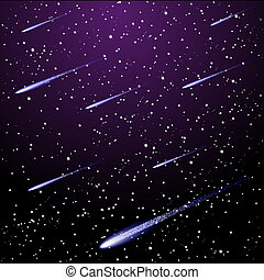 星が多い, 夜空