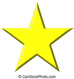 星, 3d