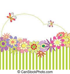 春, カラフルである, 夏, 花