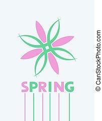 春, メッセージ, すてきである