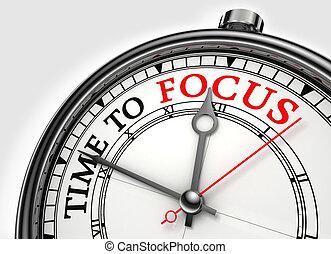 時間, 概念, クローズアップ, フォーカス, 時計