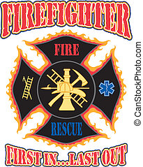 最初に, デザイン, 消防士