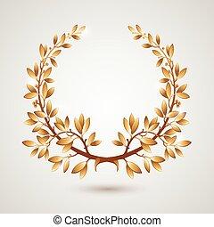 月桂樹, 金, ベクトル
