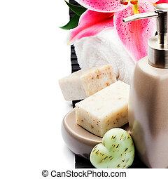 有機体である, タオル, 石鹸