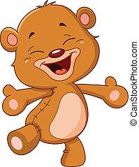 朗らかである, 熊, テディ