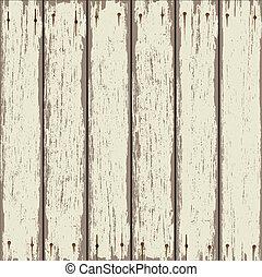 木製である, 古い, フェンス