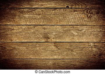 木製である, 古い, 板, 背景