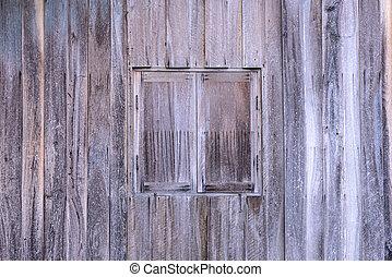 木製である, 型, 窓, wall.