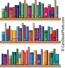 木製である, 本, 棚
