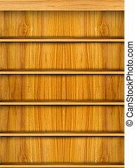 木製である, 棚, 本, 背景