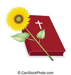 木製である, 聖書, 神聖, ひまわり, 交差点