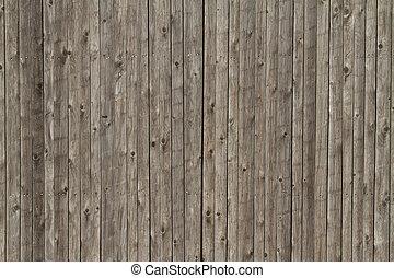 木製のフェンス, 背景