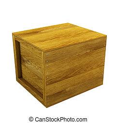 木製の木枠, 隔離された
