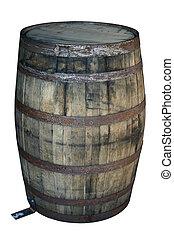 木製の樽, 古い