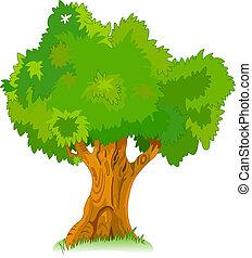 木, あなたの, 古い, 偉人, デザイン