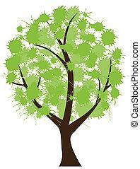 木, インク