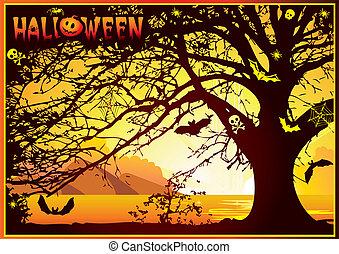 木。, ハロウィーン