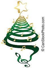 木, ミュージカル, クリスマス