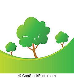 木, 抽象的