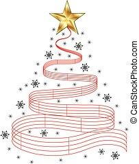 木, 音楽, クリスマス